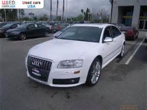Used Cars Usa 1000 For Sale 2007 Passenger Car Audi S8 Quattro Awd Torrance