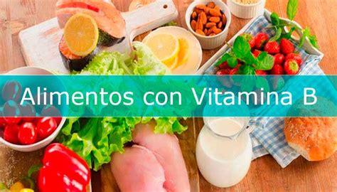 alimentos ricos en vitamina alimentos ricos en vitamina b alimentosricosen info