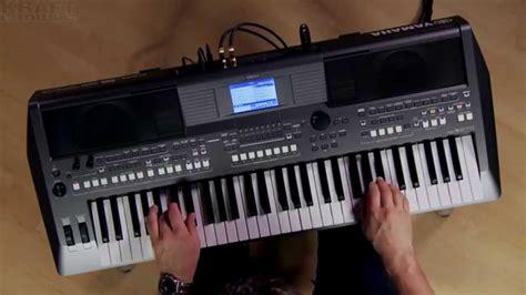 Keyboard Psr S670 kraft yamaha psr s670 arranger demo with