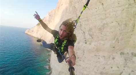 russian rope swing great greece rope swing above one of world s iconic