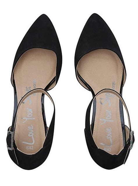 2 part point court shoes george at asda