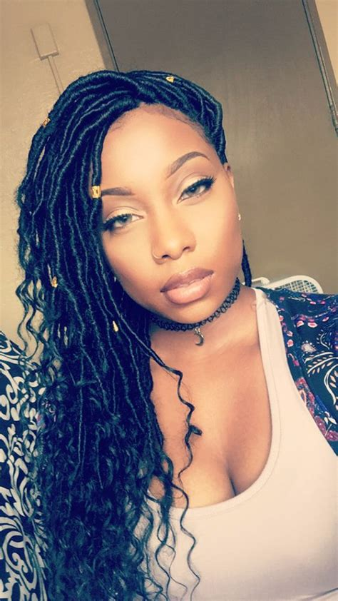 can you get faux locks on relaxed hair how long can you leave faux locs in 1000 ideas about