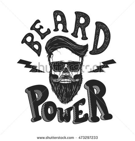 Poster Beard Barbershop Quotes Skull 1 stock photos royalty free images vectors