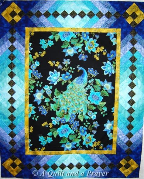 Peacock Quilts by A Quilt And A Prayer Peacock Quilt Quilts
