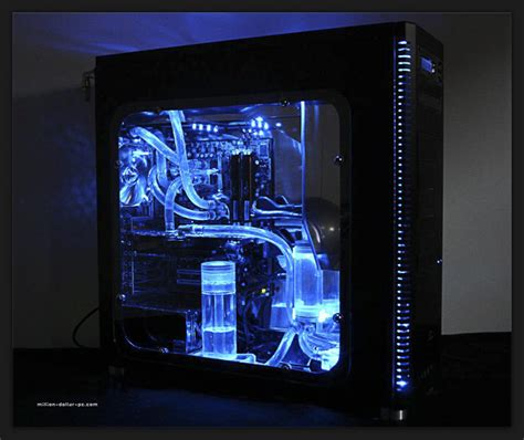 cool computer water cooled computer setup