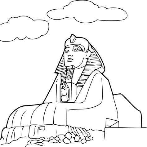 Coloriage Sphinx 224 Imprimer
