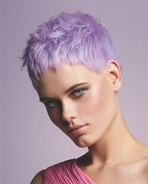 short hair in the pink with rocks bad girl les 266 meilleures images du tableau hair pixie buzz