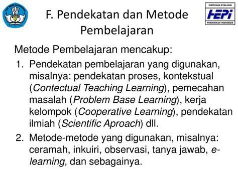 Metode Pembelajaran Bydrasumiati N Asra ppt penyusunan rencana pelaksanaan pembelajaran powerpoint presentation id 2970704