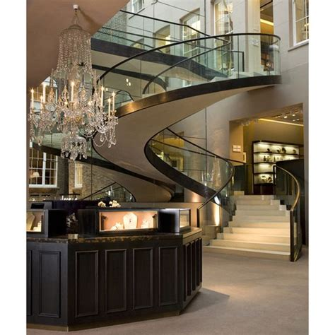 luxury kitchens entrance and staircases on
