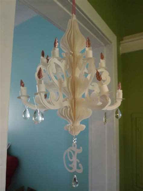 How To Make A Paper Chandelier For - paper chandelier part 2 weddingbee photo gallery