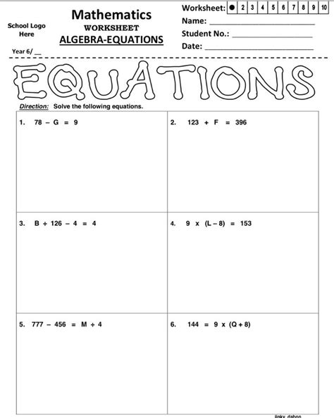 Properties Of Equality Worksheet by Addition Property Of Equality Worksheet Pdf Free