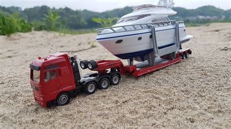 truck boat truck with tank truck with boat videos for children