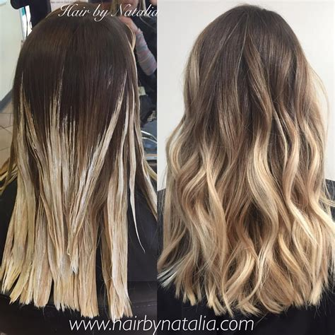 how to do blonde on top and brown underneath balayage hair painting sandy blonde balayage balayage in
