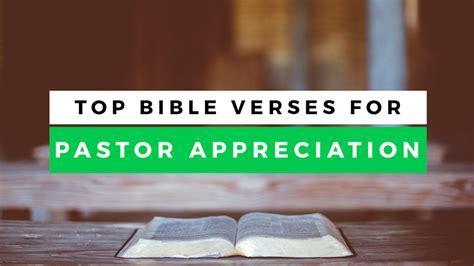 Top 10 Leadership Bible Verses For Pastor Appreciation Month