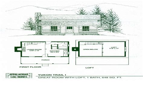 small open floor plans with loft small cabin floor plans with loft open floor plans small
