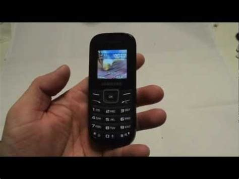 samsung e1200 unboxing review cheap mobile phone