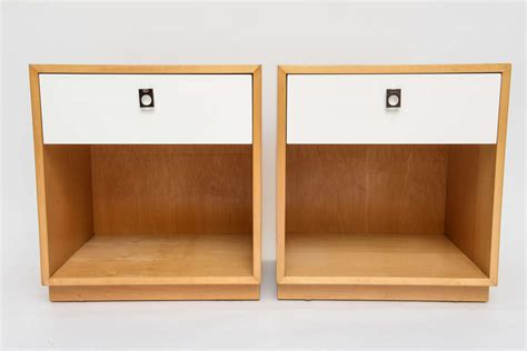 60s modern furniture cartwright 60s modern nightstands for founders furniture at 1stdibs