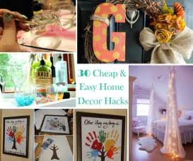 diy home decorations for cheap thirty low cost and easy property decor hacks are