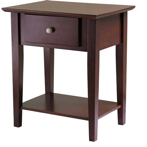 Curved Nightstand by Stylish Curved Nightstand End Table Magnificent Home