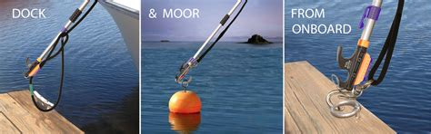 boat mooring aids wrino boat hook mooring system for easy boat docking from