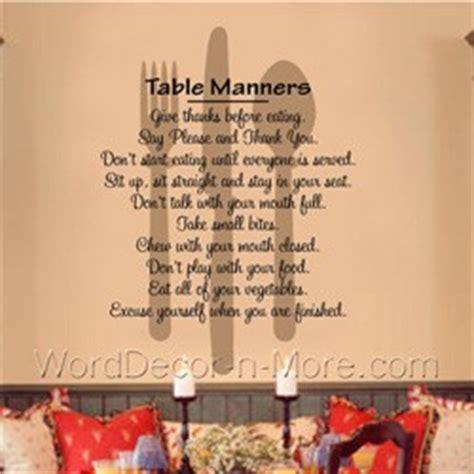 Dining Room Table Quotes Dining Etiquette Quotes Quotesgram