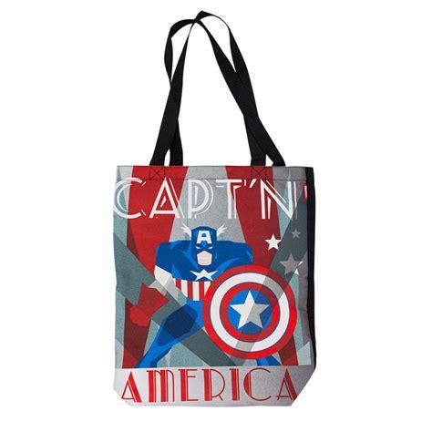 American Tote Bag captain america tote bag