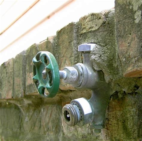 Outside Water Faucets Types
