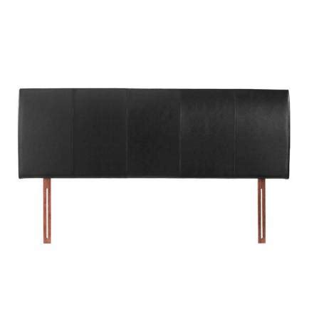 black double headboard buy black double 4ft6 headboard faux leather hamburg from