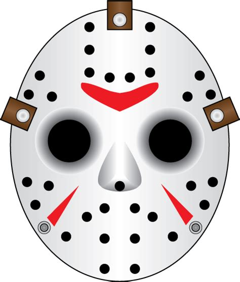 jason mask template sjv random drawings digital webbing forums