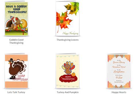 Thanksgiving Greeting Cards Free Printable