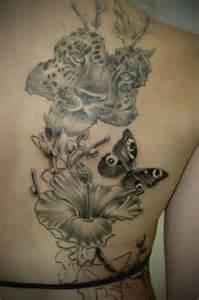 tattoo flower print colorful leopard print tattoos leopard flower thing pt