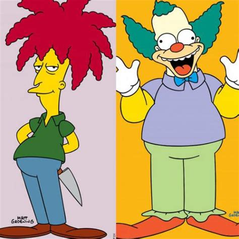 Is The Simpsons killing off Krusty The Clown or Sideshow