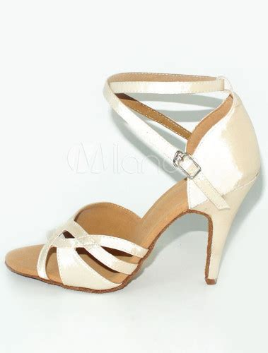 Gamis Satin 090 peep toe stiletto heel satin shoes milanoo
