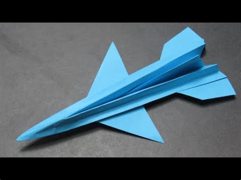 F16 Origami - how to make the paper airplane f16 origami ka茵莖ttan