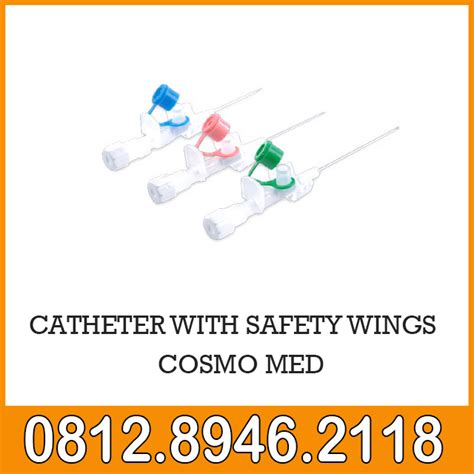 Murah Catheter Onemed Pcs catheter with safety wings cosmomed