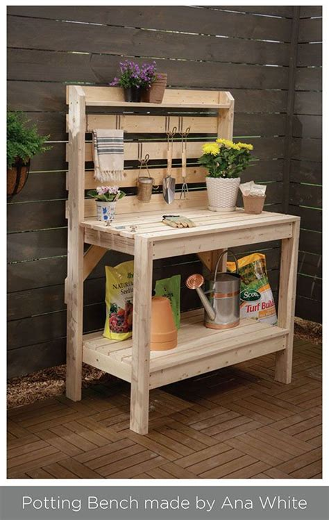 how to build a simple potting bench 25 best ideas about ana white bench on pinterest white outdoor bench benches and