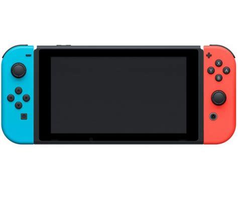 nintendo con switch neon merah console nintendo switch avec con n 233 on et bleu