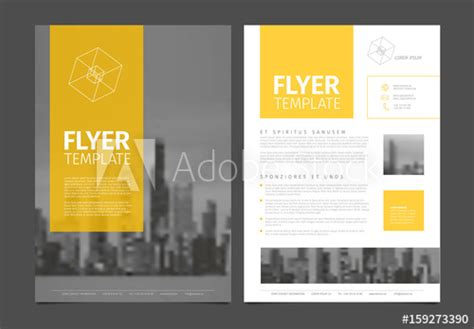 Modern Brochure Template Flyer Design Vector Template Buy This Stock Vector And Explore Modern Flyer Template
