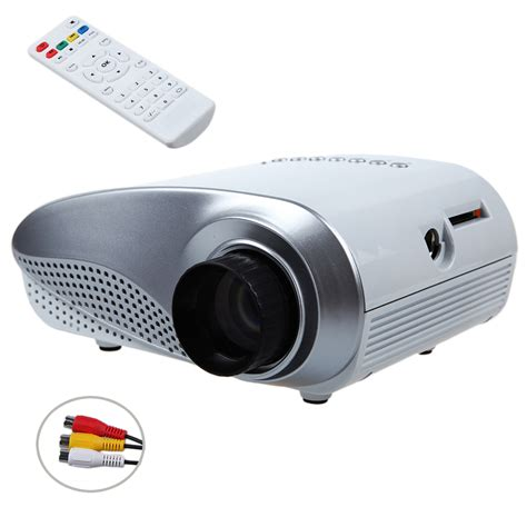 Mini Projector Led Luxeon dbpower multimedia led mini pico portable projector with usb sd vga hdmi av hd proyector home