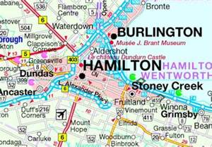map of hamilton canada visit and explore burlington canada ontario tourism