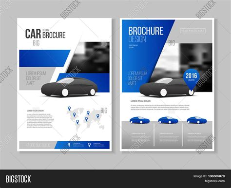 business catalog template car brochure auto leaflet brochure flyer template a4 size
