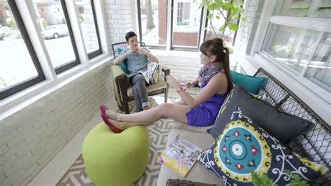 How To Add A Sunroom Interior Design Bright Sunroom Porch Makeover