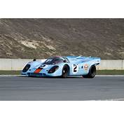 Race Car Classic Vehicle Racing Porsche Germany Gulf Le