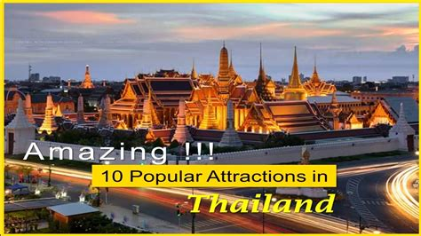 awesome top  beautiful attractions  thailand