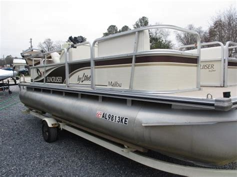 used pontoon boats huntsville used pontoon boats for sale in alabama boats