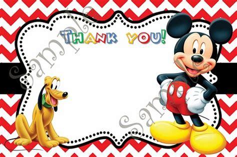 mickey mouse birthday cards gangcraft net