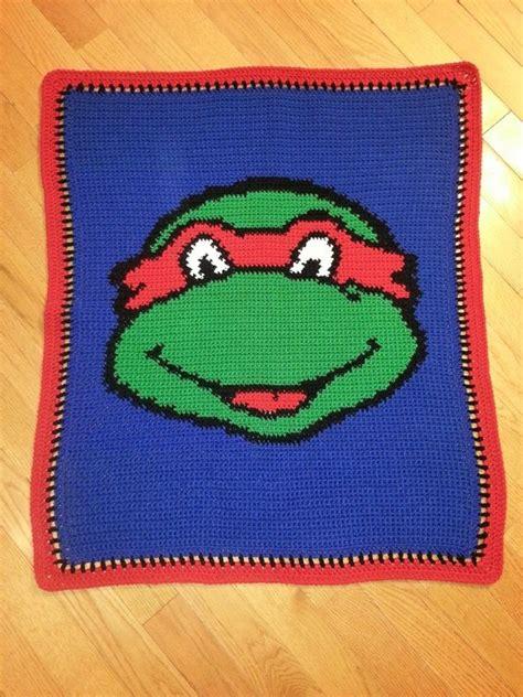 crochet pattern ninja turtle blanket handmade crochet baby ninja turtle afghan blanket ebay