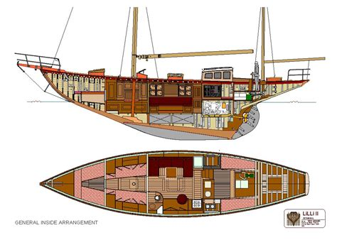sailing yacht layout plans guf hot vj sailing boat plans