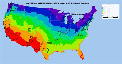 american areas map the geographic pedigree of american wine american