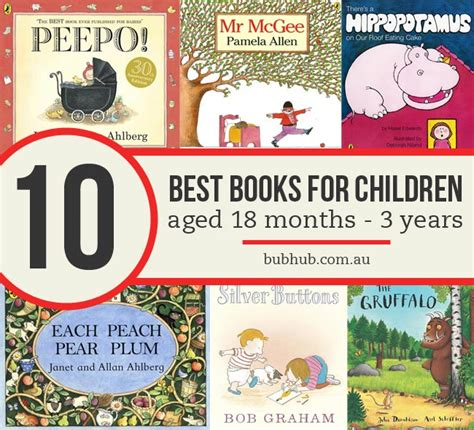 the years books top 10 best books for children aged 18 months to 3 years